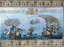 Why was the Spanish Armada defeated in 1588?