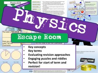 Physics Escape Room