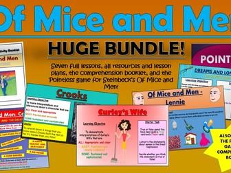 Of Mice and Men Huge Bundle!