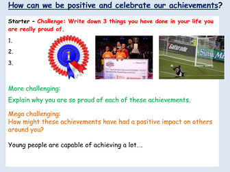 Positive Citizenship - Achievement