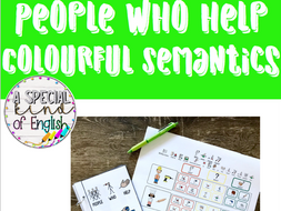 People who help - Colourful Semantics