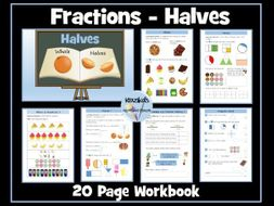 Fractions - Halves - Year 2