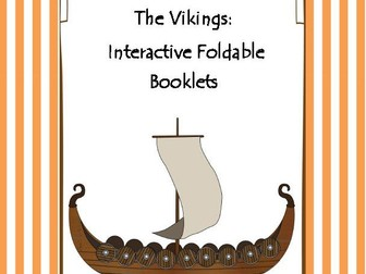 The Vikings Interactive Foldable Booklets