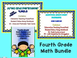 Fourth Grade Math Bundle