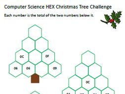 Computer Science Christmas Worksheet