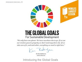 Introducing The Global Goals 60 min
