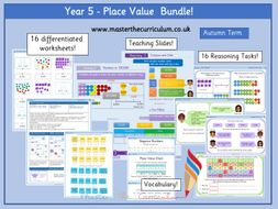 Year 5 - Place Value Bundle