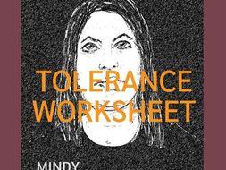 Tolerance Worksheet (US)