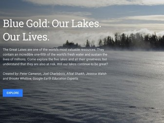 Google Earth Education: The Importance of Fresh Water #GoogleEarth