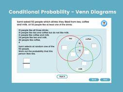 Conditional Probability - Venn Diagrams