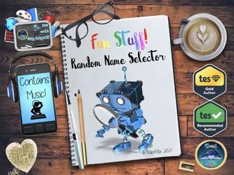 Transition : Random Name Selector