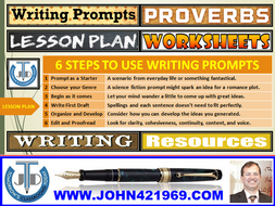USING TEXTUAL PROMPTS TO WRITE: LESSON AND RESOURCES