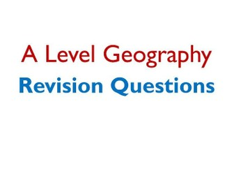 OCR A Level Geography Question Pack