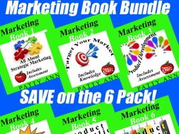 Marketing Books 1-6 > Bundled $avings Packed with Lessons, Activities + Quizzes!