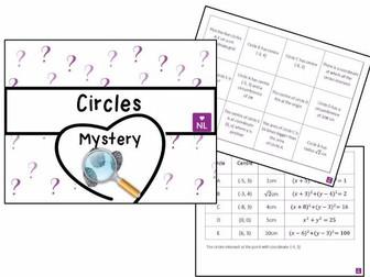 Drawing Circles Mystery
