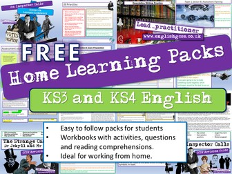 English Home Learning