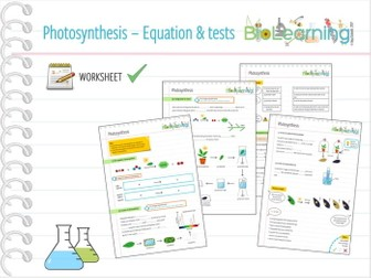photosynthesis 3x worksheets ks3 ks4 by anjacschmidt teaching resources. Black Bedroom Furniture Sets. Home Design Ideas