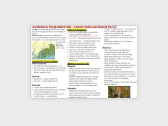 AQA A-level Geography Coasts case studies