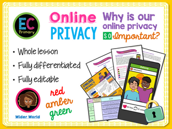 Online Safety - Privacy and Data