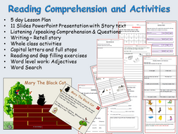Reading comprehension text sentence and word work presentation reading comprehension text sentence and word work presentation lesson plans worksheets ibookread Download