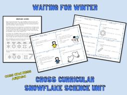 Waiting for Winter: Snowflake Science Unit