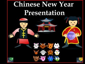Chinese New Year Assembly / Lesson Presentation 2018 - 80 Slides