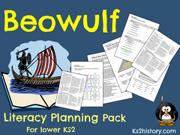 Beowulf Planning Pack (Anglo-Saxons)