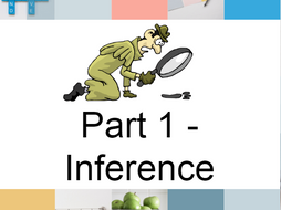 GCSE Revision - any spec - Inference