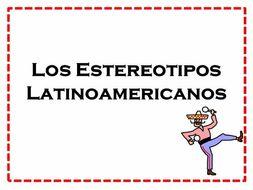 Los estereotipos latinoamericanos