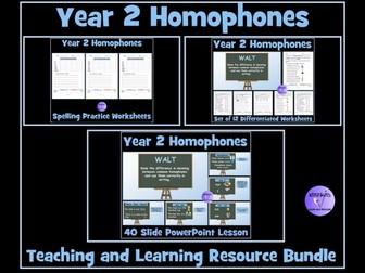Homophones: Year 2