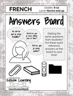 French Answers Board
