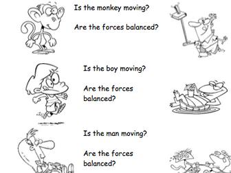 Balancing forces