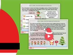 Christmas Year 4 The Tinsel Squad Story Maths PowerPoint
