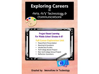 Exploring Careers:  Arts, AV Technology & Communications Career Cluster