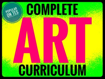 Home Learning Art Curriculum
