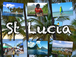 Exploring St Lucia - medium term plan & topic title page