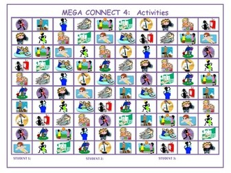 Activities Mega Connect 4 game