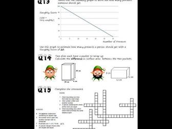 Maths Christmas Quiz