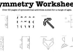 Symmetrical Activity Worksheets