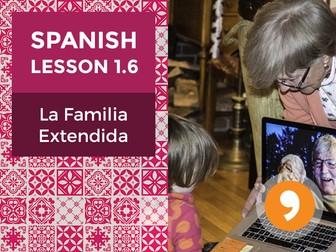 Spanish Lesson 1.6: La Familia Extendida - Extended Family