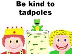 Please Be Kind To Little Tadpoles - Preschool Song, Video & Sheet Music