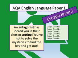 AQA English Language Paper 1 Revision