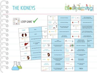The Kidneys - 11x Games and Activities Bundle (KS4) by