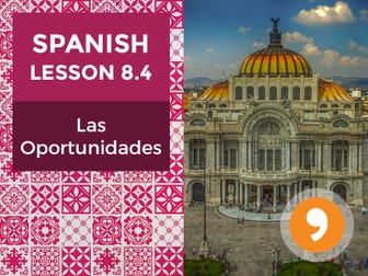 Spanish Lesson 8.4: Las Oportunidades – Opportunities