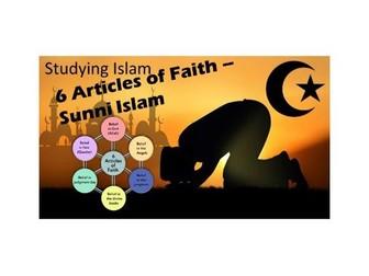 6 ARTICLES of FAITH - Sunni Islam - AQA