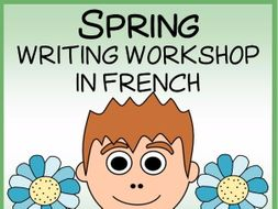 French Spring Writing Centers