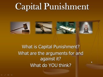an argument for capital punishment Over the years i have offered many arguments for capital punishment for murder: 1 it is a cosmic injustice to allow a murderer to keep his life.