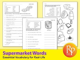 Supermarket Words: Essential Vocabulary