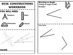 Maths Constructions and Loci