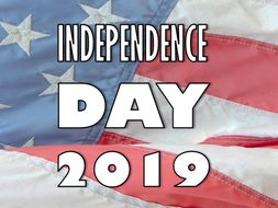 Independence Day 2019 Presentation and Quiz Worksheet: American, lesson, 4th July,  fourth, activity
